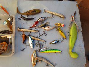 vintage fishing lures for Sale in Las Vegas, NV