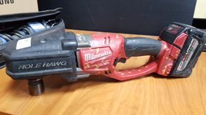 Milwaukee M18 Hole Hawg Right Angle Drill, Model 2708-20. With Battery for Sale in Los Angeles, CA