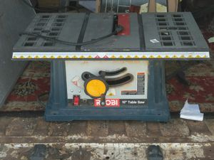 Ryobi table saw portable for Sale in Oberlin, OH