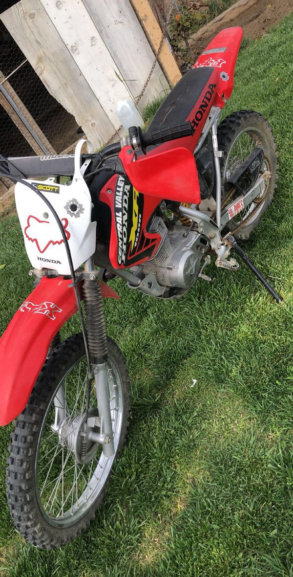 2002 Honda 100R Dirt Bike