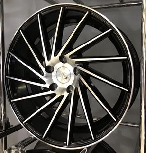 "CRAZY DEAL! New 18"" 1AV Silver Gloss Black Rims Wheels 5x4.5 Corolla Camry TL TSW Lenso for Sale in Tampa, FL"