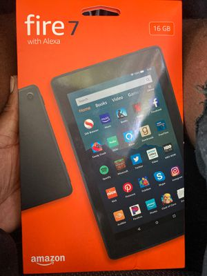 Amazon Fire 7 Tablet for Sale in Dallas, TX