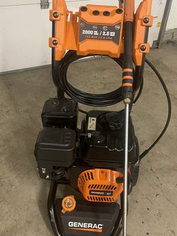 Generac 2800psi 2.5gpm Pressure Washer Comes With Accessories for Sale in Pickerington,  OH