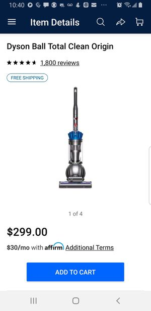 DYSON TOTAL BALL CLEAN for Sale in Wheat Ridge, CO