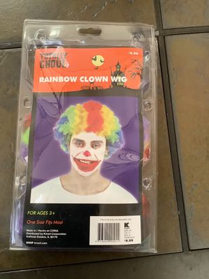 Clown wig for Sale in Lakewood, CA