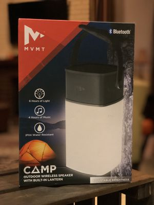 Outdoor wireless speaker with built in lantern for Sale in San Diego, CA
