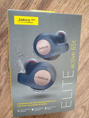 Jabra Elite Active 65t Wireless Earbuds - Blue Copper for Sale in Palos Hills, IL