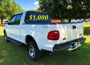 🟢💲1,OOO For sale URGENTLY this Beautiful💚2002 Ford F150 nice Family truck XLT Super Crew Cab 4-Door Runs and drives very smooth V8🟢 for Sale in Santa Ana, CA