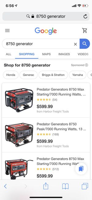 Brand new Generator for Sale in Washington, DC