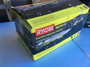 Ryobi 1,600 PSI 1.2 GPM Electric Pressure Washer for Sale in Mesa, AZ