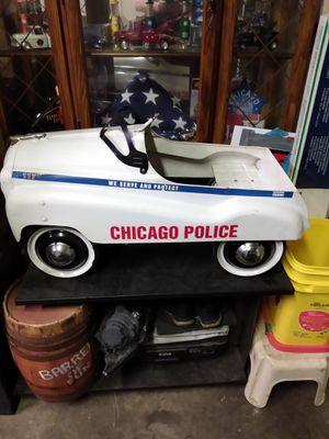 Chicago police pedal car for Sale in Mokena, IL