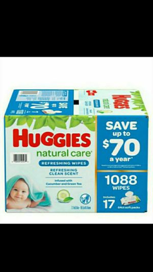 HUGGIES BABY WIPES **MEGA BOX** for Sale in Fontana, CA