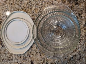 Set of 3 Pyrex Bowls with lids for Sale in Arvada, CO