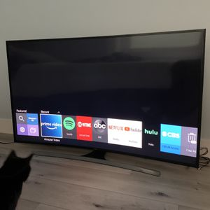 """TV 65 """" Curved Smart Tv Samsung 6700 Series 6 for Sale in San Clemente, CA"""