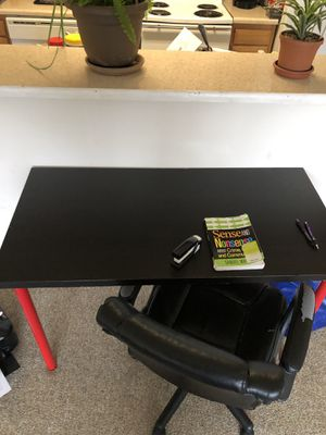 Study desk and a chair for Sale in Big Rapids, MI