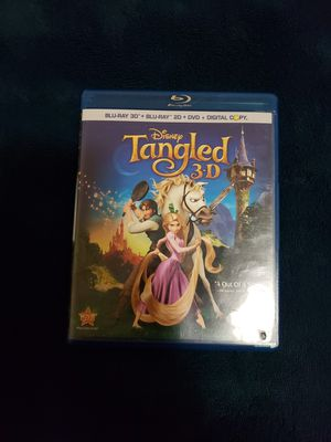 Tangled (3D) (Blu-ray + Blu-ray + DVD + Digital Copy) for Sale in Passaic, NJ