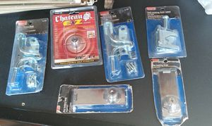 Unopened latches, hasps and lock for Sale in Maple Park, IL
