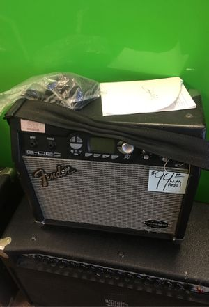 Fender G-DEC GUITAR AMP WITH PEDAL for Sale in Cheshire, CT