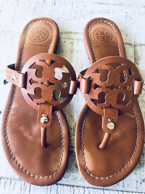 f394376d2 Tory Burch Miller Sandals - Size 7 for Sale in Port St. Lucie