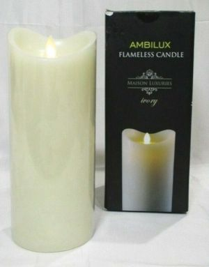 Maison Luxuries Ambilux Flameless Candle Battery Opertated Electric LED for Sale in Los Angeles, CA