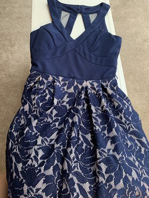 Navy Blue Party Dress for Sale in Bakersfield, CA