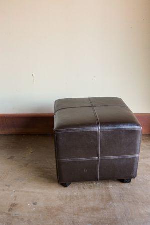 Leather ottoman for Sale in Phoenix, AZ