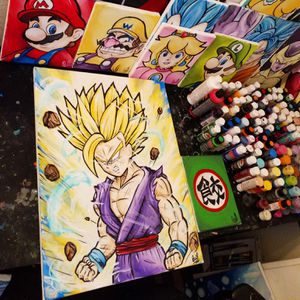 Super Saiyan 2 Gohan! By Quil - Dragonball Z for Sale in Tracy, CA
