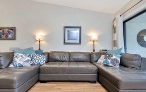 Italian leather sofa U shaped for Sale in Delray Beach, FL