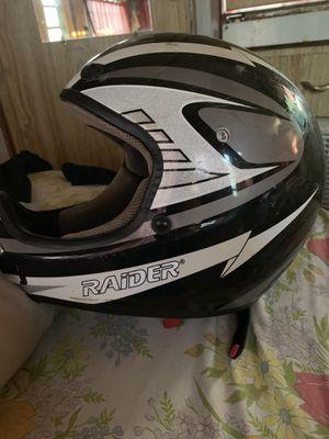 Raider riding helmet for Sale in Quinnesec, MI