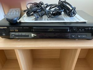 Panasonic dvd with cords and manual for Sale in Mountlake Terrace, WA