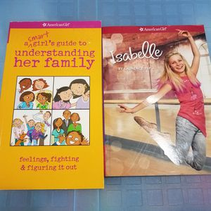 American Girl Book Lot A Smart Girl's Guide To Understanding Her Family And Isabel for Sale in Toledo, OH