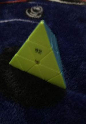 Pyrimax Rubiks Cube. Out of box but never used clean and fast turning for Sale in Trumbull, CT