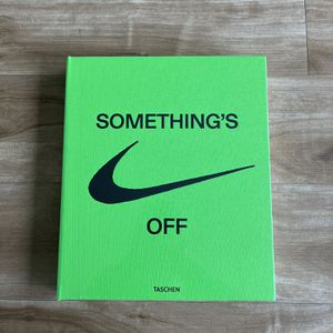 """Virgil Abloh x Nike ICONS """"The Ten"""" Something's Off Book for Sale in Kent, WA"""