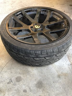 22inch srt10 rims replicas (Charger) for Sale in Compton, CA