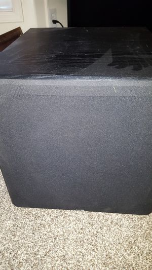 BOSTON ACOUSTICS THX 595X *MINT* PASSIVE SUBWOOFER for Sale in Bothell, WA
