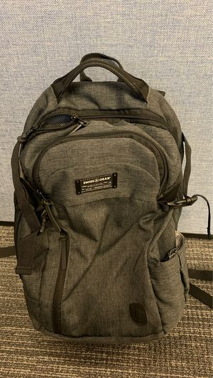 Swiss Gear Backpack grey black for Sale in Tustin, CA