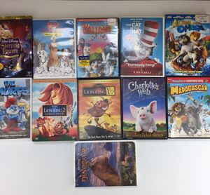 11 Lot kids dvd collection for Sale in Tamarac, FL