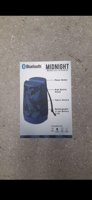 Midnight wireless Bluetooth speaker for Sale in Fort Lauderdale, FL