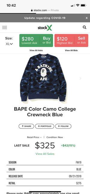 bape sweaters for Sale in Fredericksburg, VA