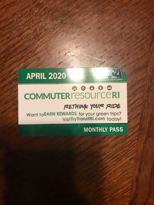APRIL BUS PASS $45 April Bus Pass for Sale in Providence, RI