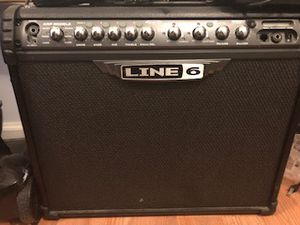 Line 6 spider III 75 watt modeling amp with FBV foot-switch for Sale in Silver Spring, MD