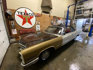 1966 Cadillac Convertible Project for Sale in Mendon, MA