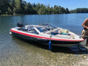 1987 bayliner capri 19 foot for Sale in Tacoma, WA