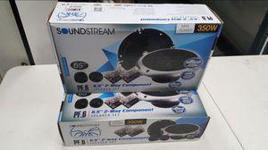 Soundstream 6.5 Speakers w/ Components for Sale in San Bernardino, CA