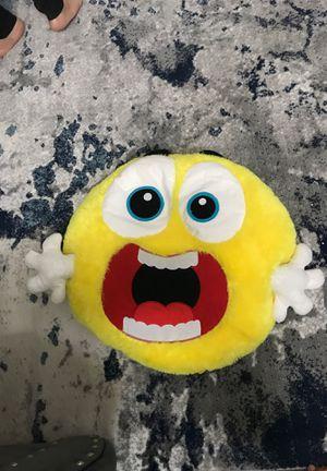 Happy face emoji stuffed animal for Sale in El Cajon, CA