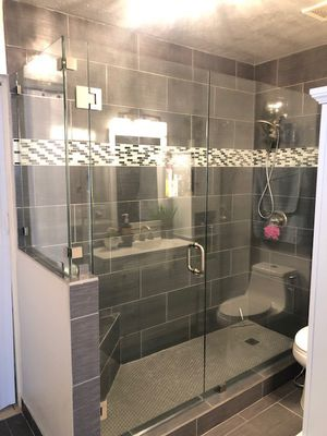 Glass shower doors $25 per sq ft for Sale in Miami, FL