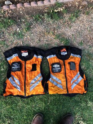 Icon military reflective motorcycle vests for Sale in Santee, CA