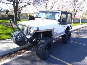 1999 Jeep Wrangler Sport auto lift off road for Sale in Salt Lake City, UT