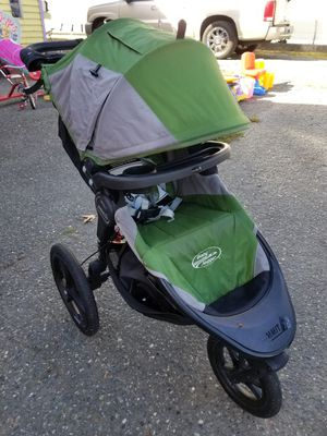Baby Jogger Summit X3 jogger jogging stroller NICE for Sale in Seattle, WA