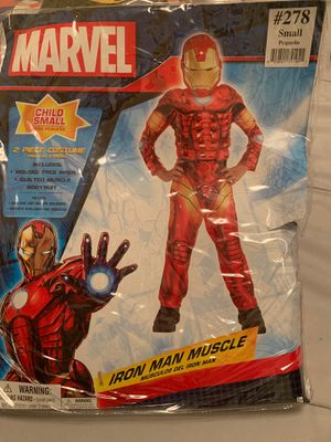 Boys iron man muscle costume for Sale in City of Industry, CA